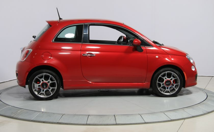 2015 Fiat 500 Sport AUTO A/C CUIR GR ELECT MAGS BLUETOOTH #7