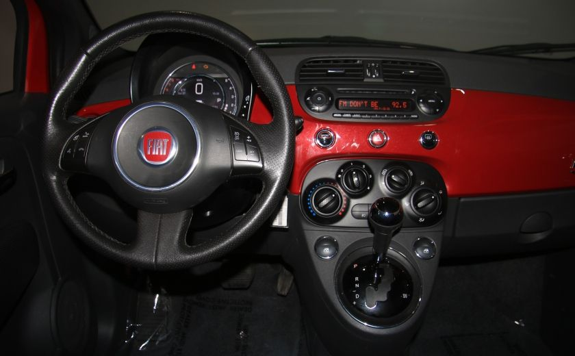 2015 Fiat 500 Sport AUTO A/C CUIR GR ELECT MAGS BLUETOOTH #12
