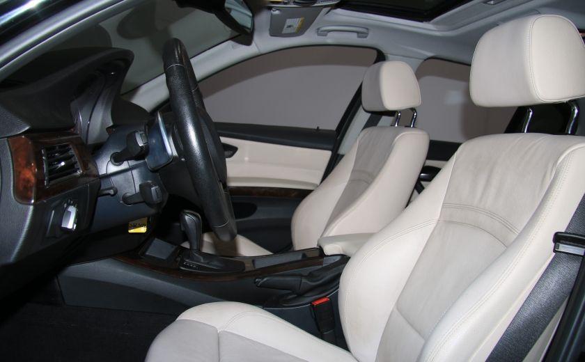 2011 BMW 335  xDrive AWD TURBO AUTO A/C CUIR TOIT #9
