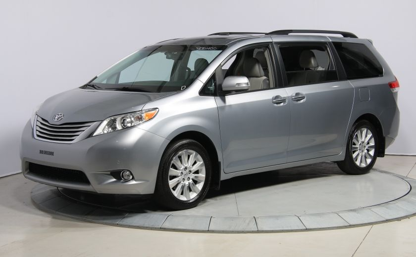 2013 Toyota Sienna LIMITED AWD CUIR TOIT NAV DVD MAGS #2
