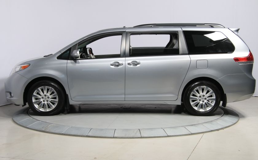 2013 Toyota Sienna LIMITED AWD CUIR TOIT NAV DVD MAGS #3