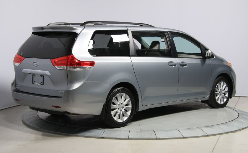 2013 Toyota Sienna LIMITED AWD CUIR TOIT NAV DVD MAGS #6