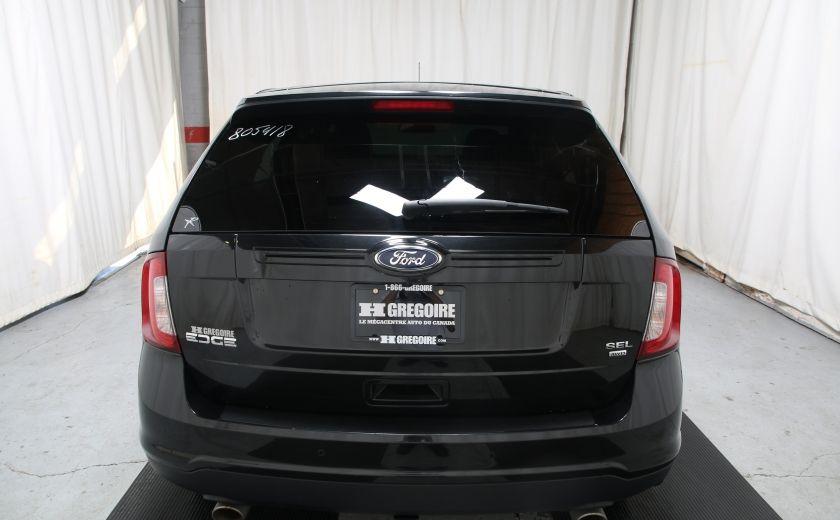 2014 Ford EDGE SEL AUTOMATIQUE  A/C MAGS BLUETHOOT CUIR TOIT #4