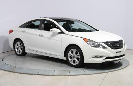2012 Hyundai Sonata Limited AUTO A/C CUIR TOIT PANO MAGS BLUETOOTH in Trois-Rivières