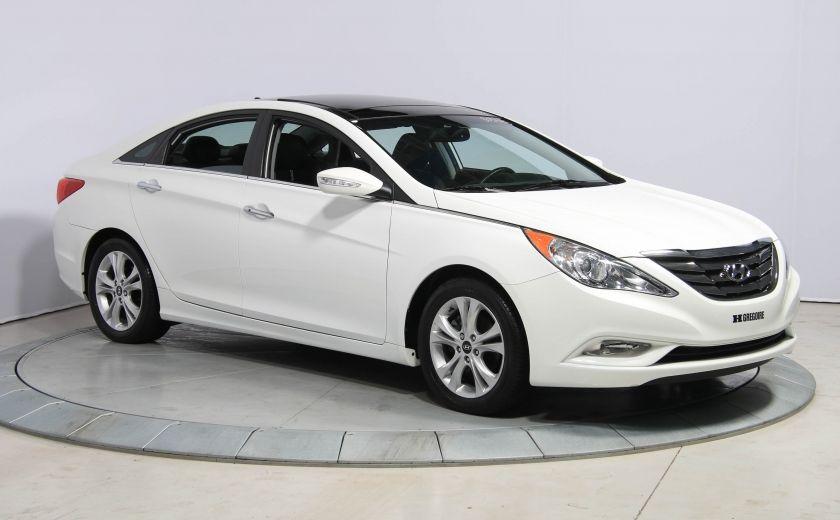 2012 Hyundai Sonata Limited AUTO A/C CUIR TOIT PANO MAGS BLUETOOTH #0