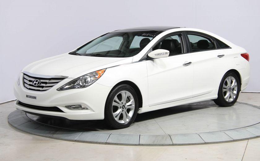 2012 Hyundai Sonata Limited AUTO A/C CUIR TOIT PANO MAGS BLUETOOTH #2