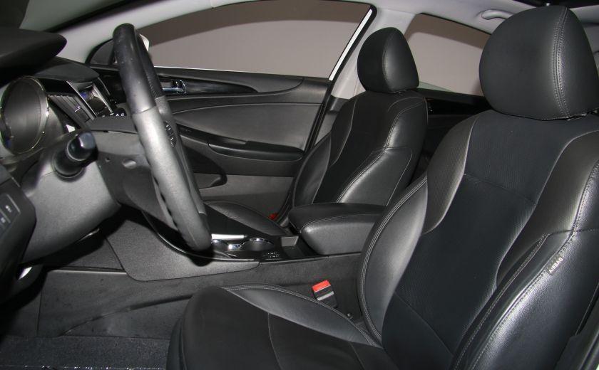 2012 Hyundai Sonata Limited AUTO A/C CUIR TOIT PANO MAGS BLUETOOTH #9