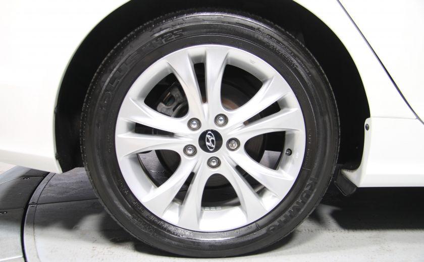 2012 Hyundai Sonata Limited AUTO A/C CUIR TOIT PANO MAGS BLUETOOTH #33