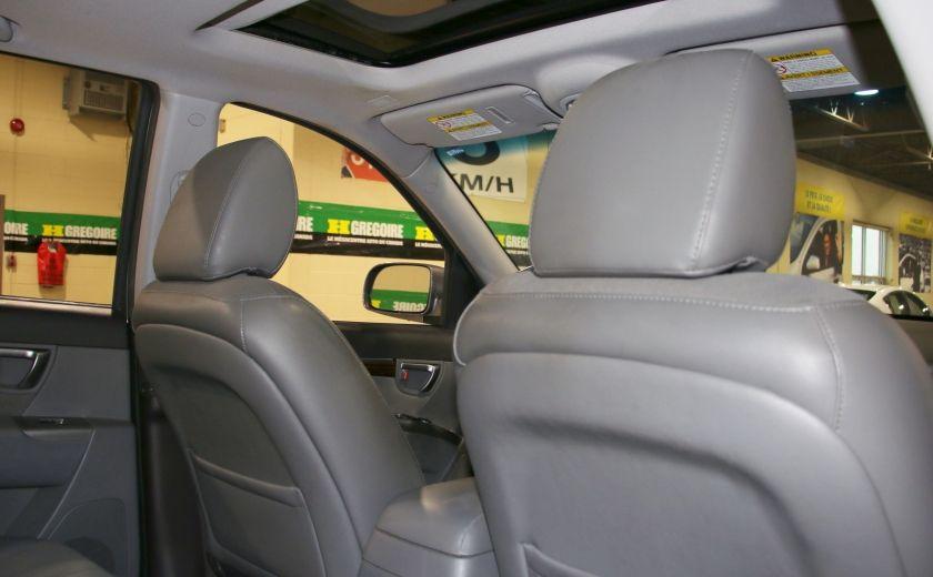 2010 Hyundai Santa Fe GL SPORT V6 TOIT MAGS BLUETHOOT #22