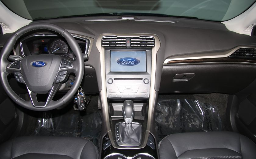 2015 Ford Fusion SE AUTO CUIR NAV MAGS BLUETOOTH #12