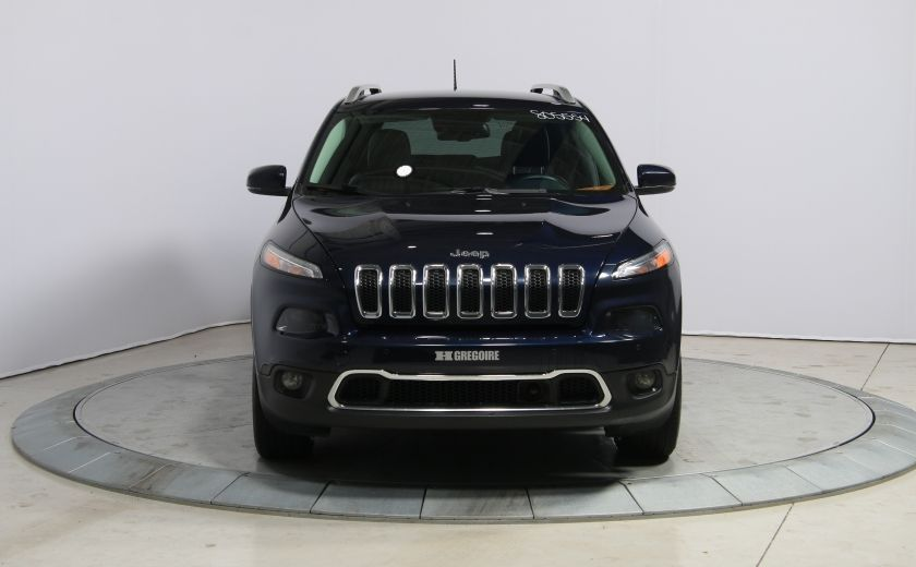 2014 Jeep Cherokee LIMITED AWD V6 CUIR NAV CAMERA RECUL #1