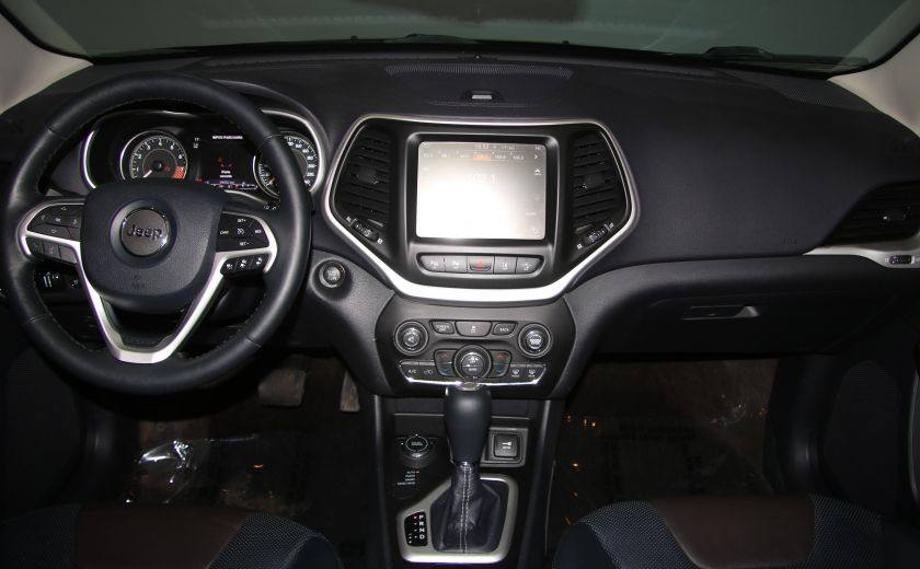 2014 Jeep Cherokee LIMITED AWD V6 CUIR NAV CAMERA RECUL #12