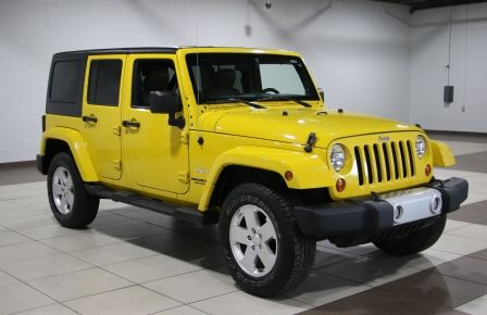 2011 Jeep Wrangler 4WD Sahara Unlimited #0