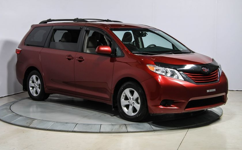 2015 Toyota Sienna LE AUTO A/C GR ELECT MAGS BLUETOOTH CAM.RECUL 8PAS #0