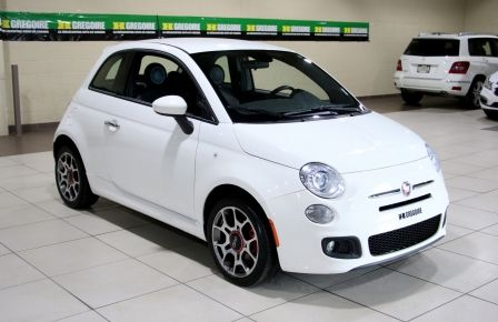 2015 Fiat 500 Sport AUTO A/C MAGS BLUETOOTH in Longueuil
