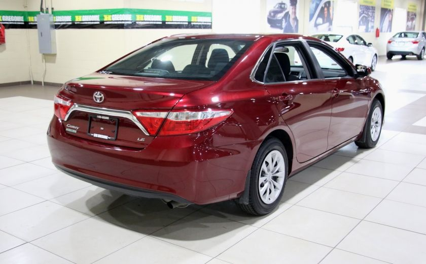 2016 Toyota Camry LE AUTO A/C BLUETOOTH CAMERA RECUL #6