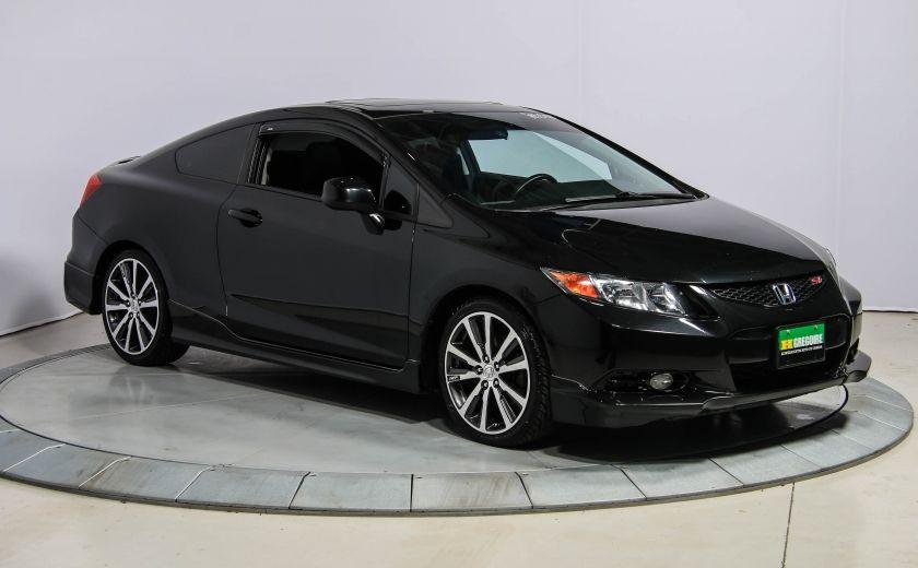 2012 Honda Civic SI HFP A/C GR ELECT TOIT NAV MAGS BLUETOOTH #0