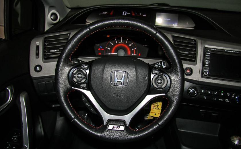 2012 Honda Civic SI HFP A/C GR ELECT TOIT NAV MAGS BLUETOOTH #14