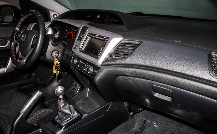 2012 Honda Civic SI HFP A/C GR ELECT TOIT NAV MAGS BLUETOOTH #19