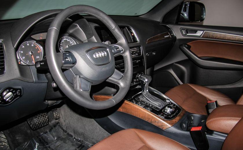 2014 Audi Q5 2.0L Technik AWD CUIR TOIT NAV MAGS BLUETOOTH #8