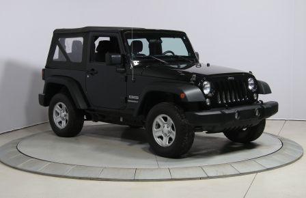 2014 Jeep Wrangler Sport 4WD #0