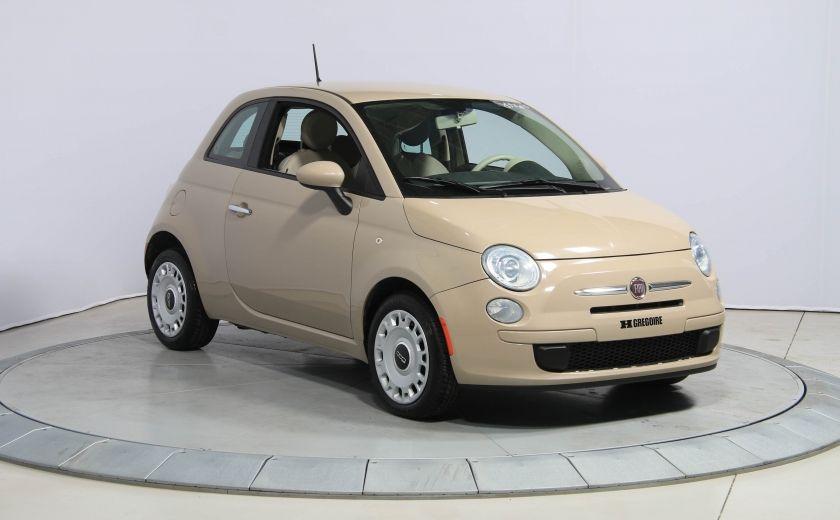 2012 Fiat 500 Pop AUTO A/C GR ELECT #0