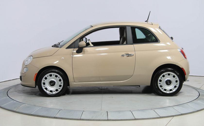 2012 Fiat 500 Pop AUTO A/C GR ELECT #3