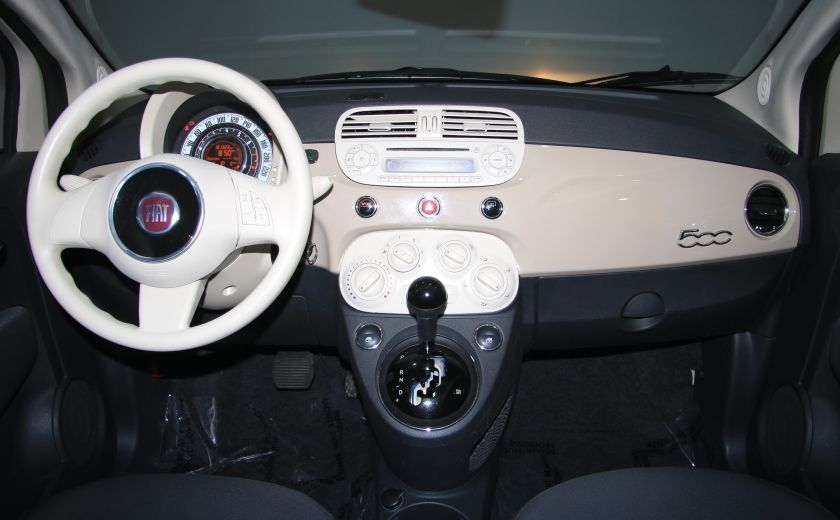 2012 Fiat 500 Pop AUTO A/C GR ELECT #11