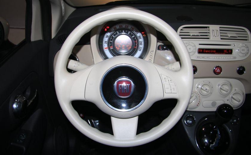 2012 Fiat 500 Pop AUTO A/C GR ELECT #13