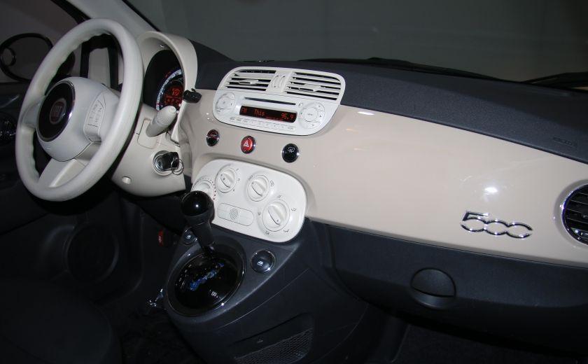 2012 Fiat 500 Pop AUTO A/C GR ELECT #19