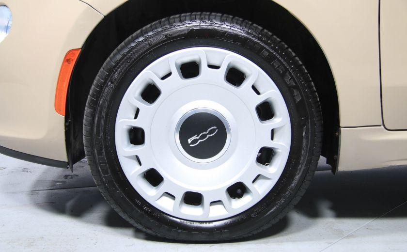 2012 Fiat 500 Pop AUTO A/C GR ELECT #27