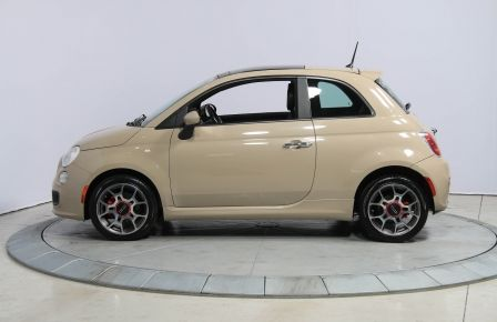 2012 Fiat 500 Sport AUTO A/C CUIR TOIT MAGS BLUETOOTH in Longueuil