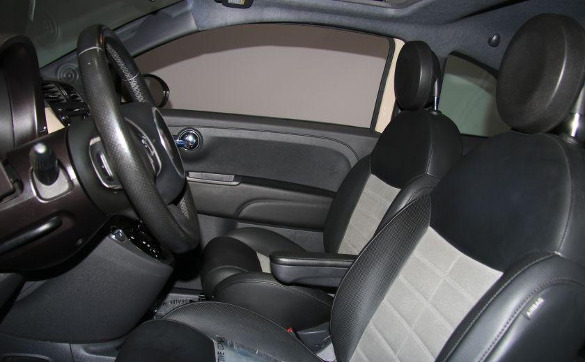 2012 Fiat 500 Sport AUTO A/C CUIR TOIT MAGS BLUETOOTH #4