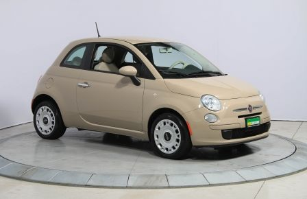 2012 Fiat 500 Pop AUTO A/C GR ELECT à Abitibi