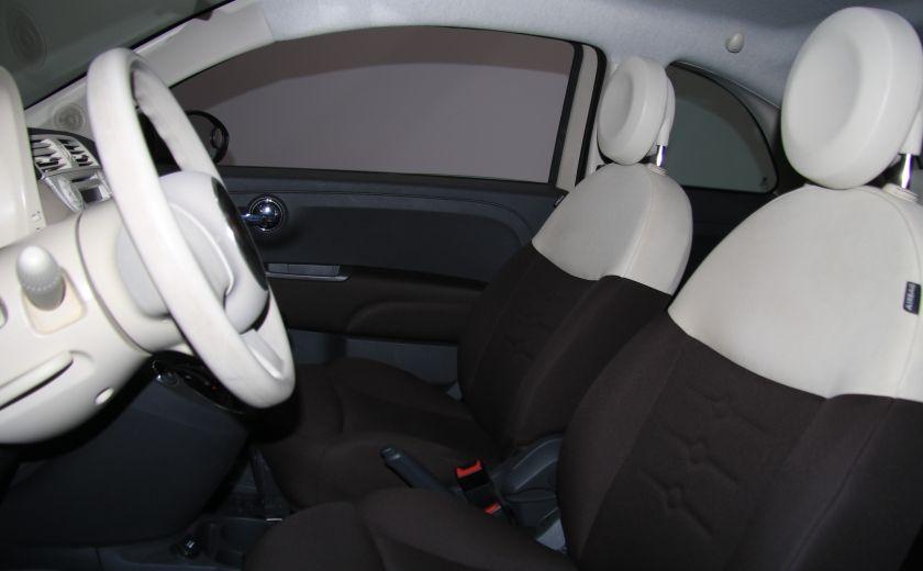 2012 Fiat 500 Pop AUTO A/C GR ELECT #9