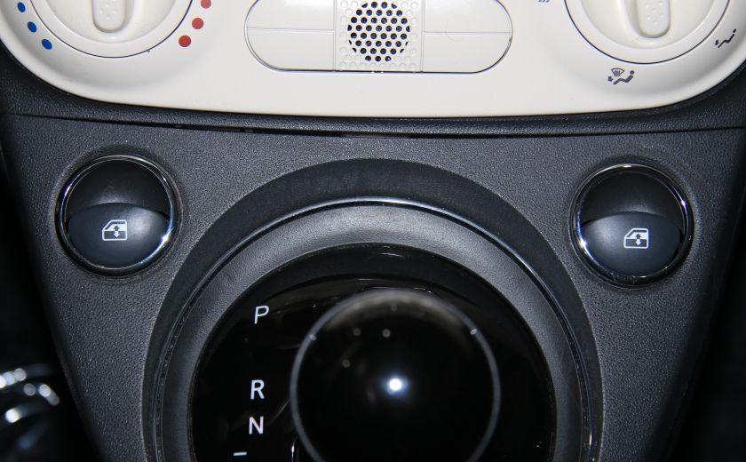 2012 Fiat 500 Pop AUTO A/C GR ELECT #15