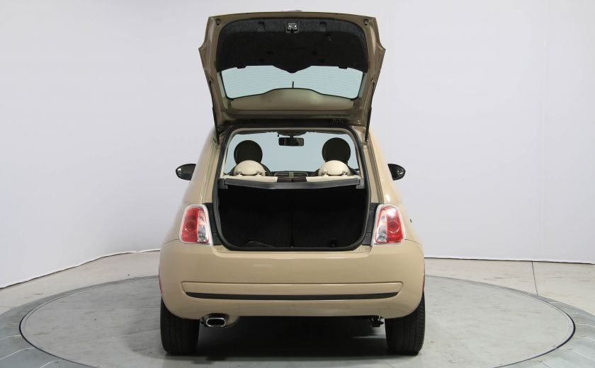 2012 Fiat 500 Pop AUTO A/C GR ELECT #24