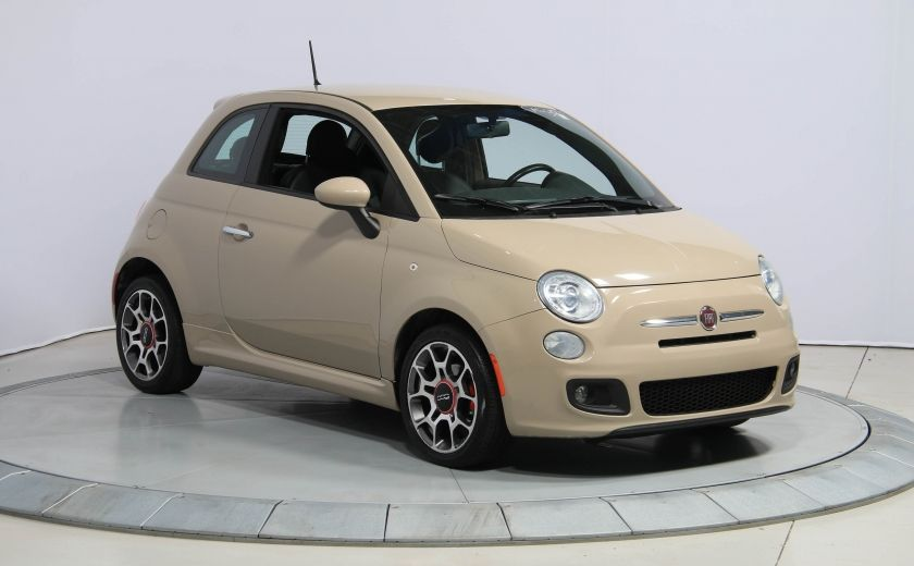 2012 Fiat 500 Sport AUTO A/C GR ELECT MAGS BLUETOOTH #0
