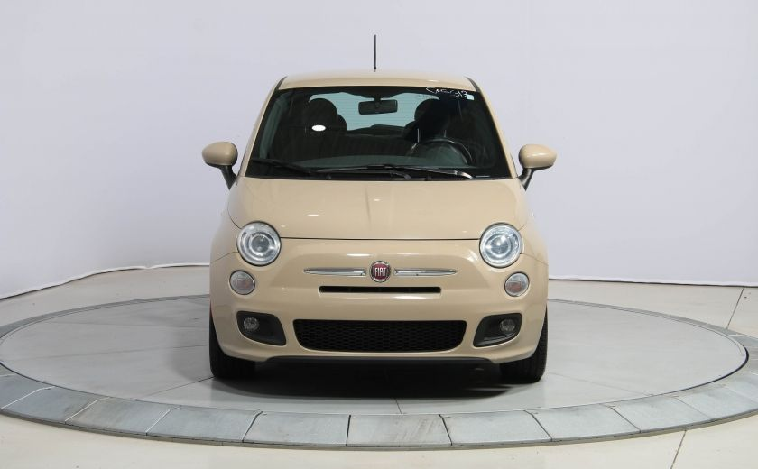 2012 Fiat 500 Sport AUTO A/C GR ELECT MAGS BLUETOOTH #1
