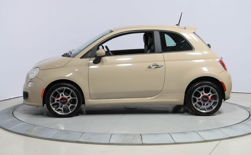 2012 Fiat 500 Sport AUTO A/C GR ELECT MAGS BLUETOOTH #2