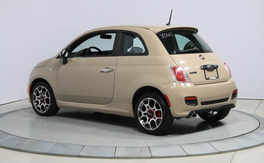 2012 Fiat 500 Sport AUTO A/C GR ELECT MAGS BLUETOOTH #3