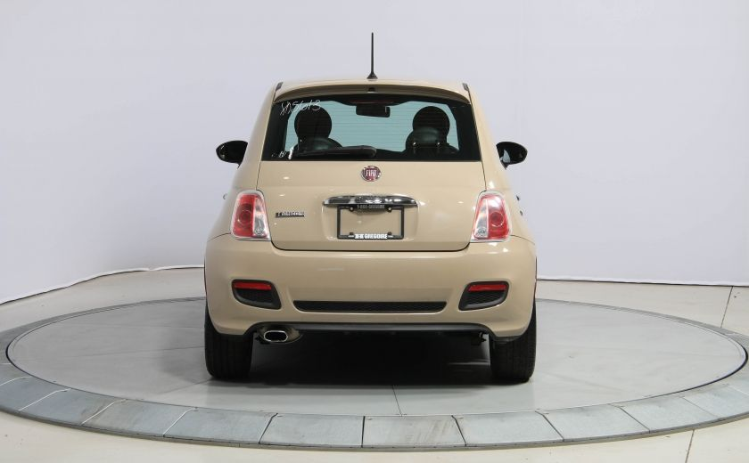 2012 Fiat 500 Sport AUTO A/C GR ELECT MAGS BLUETOOTH #4