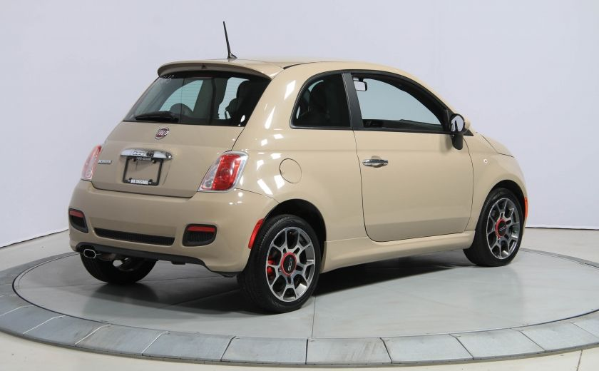 2012 Fiat 500 Sport AUTO A/C GR ELECT MAGS BLUETOOTH #5