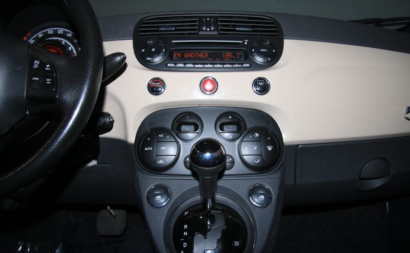 2012 Fiat 500 Sport AUTO A/C GR ELECT MAGS BLUETOOTH #13