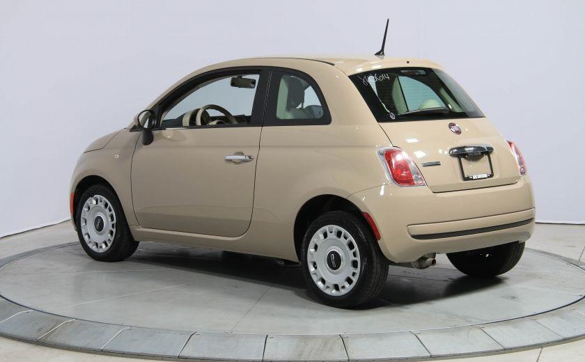 2012 Fiat 500 Pop AUTO A/C GR ELECT #4