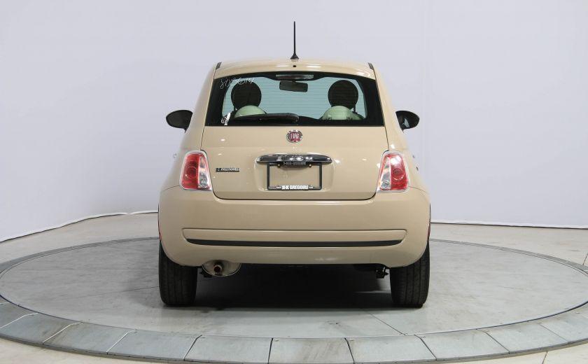2012 Fiat 500 Pop AUTO A/C GR ELECT #5