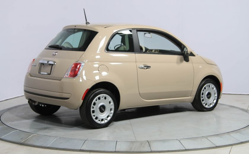 2012 Fiat 500 Pop AUTO A/C GR ELECT #6