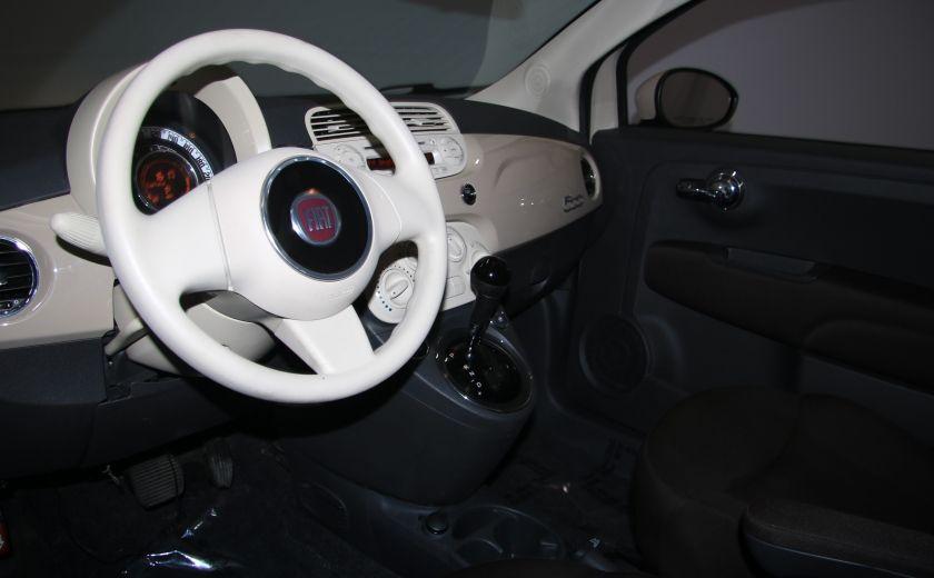 2012 Fiat 500 Pop AUTO A/C GR ELECT #8