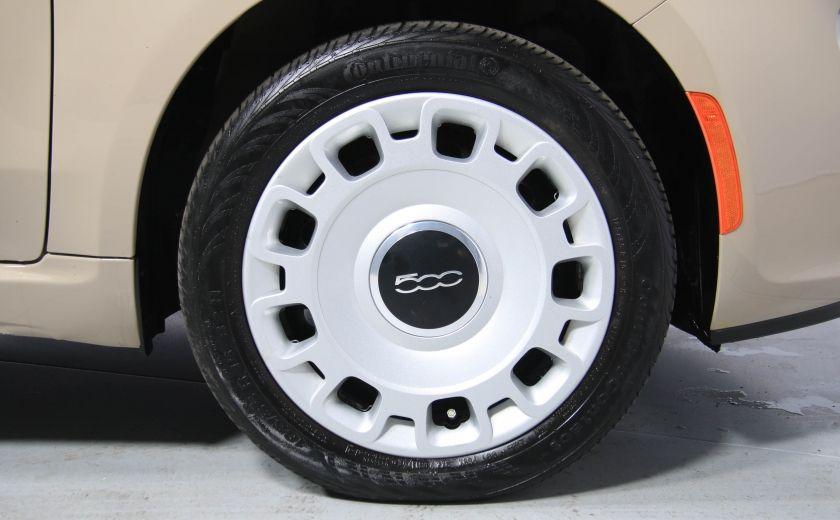 2012 Fiat 500 Pop AUTO A/C GR ELECT #28