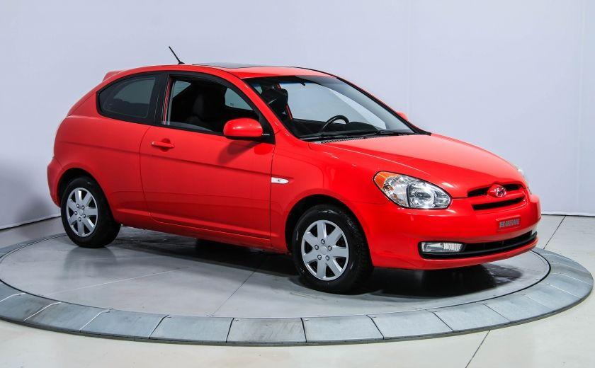 2010 Hyundai Accent GL SPORT A/C GR ELECT TOIT #0